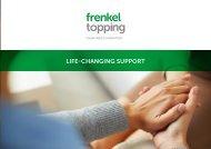 Frenkel Topping Charity Brochure