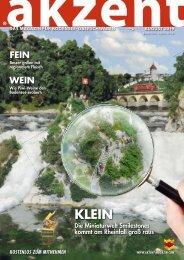 akzent Magazin August '19 BO
