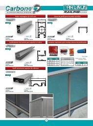 Sistema Barandas Aluminio Carbone