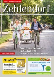 Gazette Zehlendorf August 2019