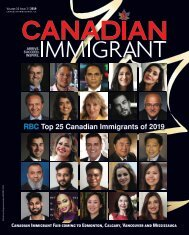 Canadian Immigrant - July 2019