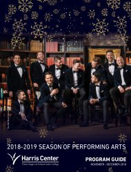 Harris Center Winter 2018-2019