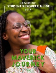 The Shorthorn Student Resource Guide 2019