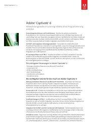 Datenblatt Captivate 6 - BASIS 1