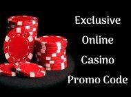Exclusive Online Casino Promo Code
