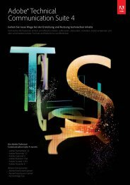 Adobe® Technical Communication Suite 4