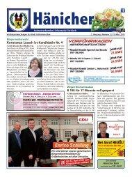 Hänicher Bote   März-Ausgabe 2015