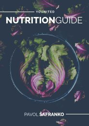 NUTRITION GUIDE YOUnited