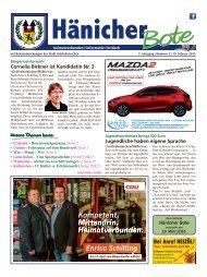 Hänicher Bote   Februar-Ausgabe 2015