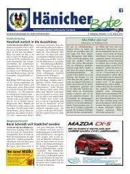 Hänicher Bote   Januar-Ausgabe 2015