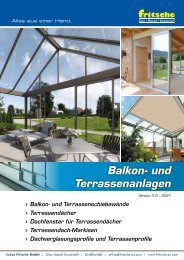 Broschüre Balkon- und Terrassenanlagen - 9klein