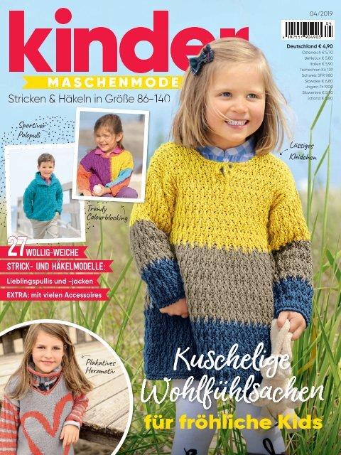 Kinder Maschenmode Nr. 4/2019 - Blick-ins-Heft