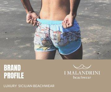 BRAND PROFILE I MALANDRINI BEACHWEAR