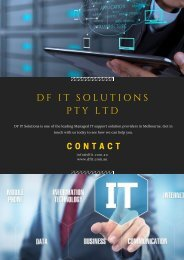 Managed IT Services - What And How They Serve For Your Business?