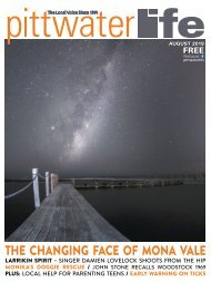 Pittwater  LIfe August 2019 Issue