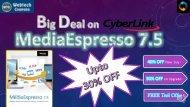 Cyberlink mediaespresso 7.5 Coupon code
