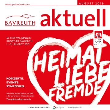 Bayreuth Aktuell August 2019