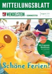 Wendelstein + Schwanstetten - August 2019