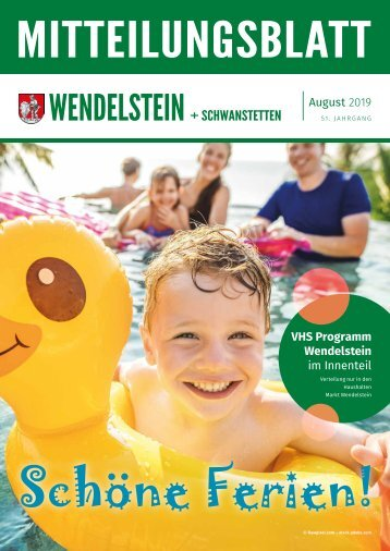 Wendelstein + Schwanstetten - August 2019