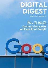 Digital Digest - AUG'19 - Edition 53