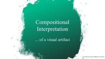 Compositional Interpretation of a Visual Artifact