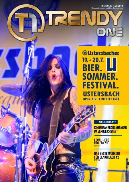 TRENDYone   Das Magazin - Augsburg - Juli 2019