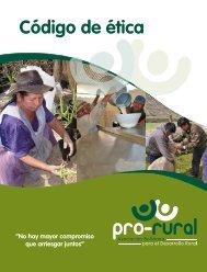 Código Ética Pro-Rural