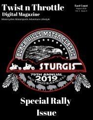 Twist n Throttle Magazine August 2019 Volume 1 Issue 4
