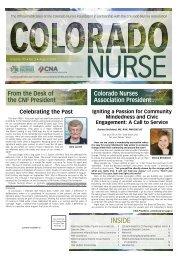Colorado Nurse - August 2019