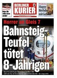 Berliner Kurier 30.07.2019
