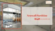 Install Partition Wall in your Home or Office