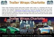 Trailer Wraps Charlotte