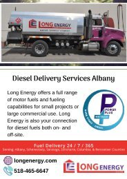 Diesel Delivery Services Albany