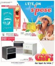 Gifi catalogue 30 Juillet-7 aout 2019