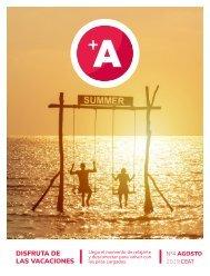 +A Magazine Nº 4 | Disfruta de las vacaciones