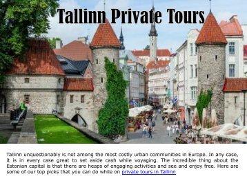 Tallinn Private Tours