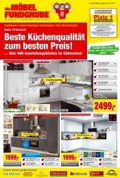 Die Möbelfundgrube KW31 - Küchen