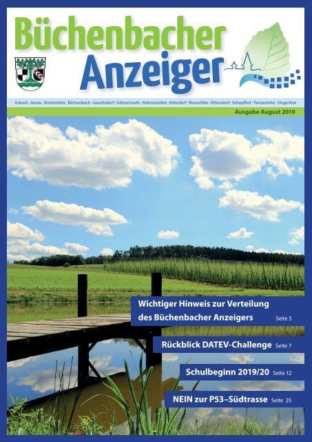 August 2019 - Büchenbach Anzeiger