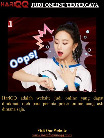 Judi Online Terpercaya