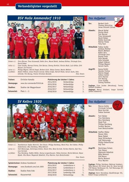 Fußball Magazin Sachsen-Anhalt 2019-2020