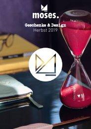 Moses Herbst 2019 Geschenke & Design - Cadeaux & Design