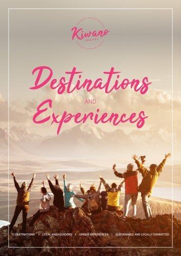 Destination and Experiences Brochure