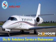 Select Air Ambulance in Bhubaneswar with Certified Medical Staff