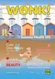 Wonk! Summer 2019 Issue