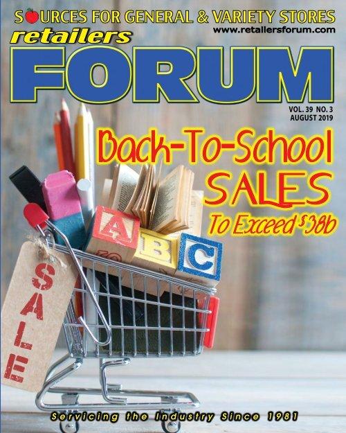 Retailers Forum August 2019 E Mag