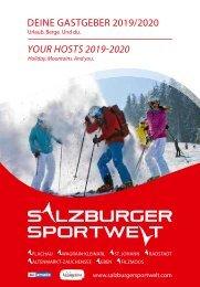 Gastgeberverzeichnis - Salzburger Sportwelt 2019/20
