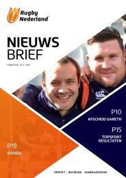 Rugby NL Nieuwsbrief 1 - 2019