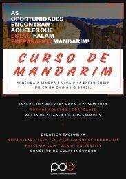 Apresentação do Curso de Mandarim em Curitiba