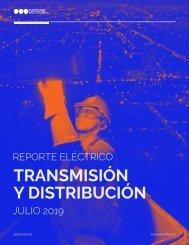 REPORTE ELÉCTRICO JULIO 2019