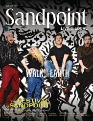 August 2019 Sandpoint Living Local
